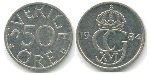 50 эре 1984 Швеция
