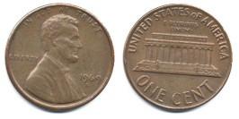 1 цент 1969 D США