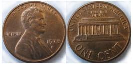 1 цент 1978 D США