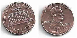 1 цент 2003 США