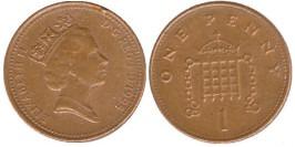 1 новый пенни 1995 Великобритания