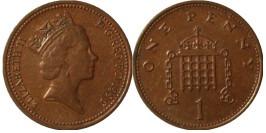 1 пенни 1996 Великобритания