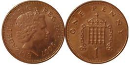 1 новый пенни 2007 Великобритания