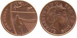 1 пенни 2009 Великобритания