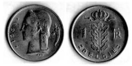 1 франк 1963 Бельгия (VL)