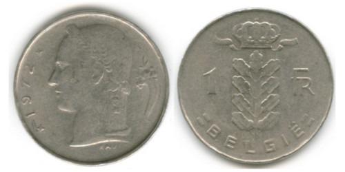 1 франк 1972 Бельгия (VL)