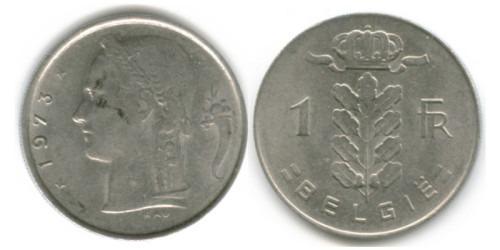 1 франк 1973 Бельгия (VL)