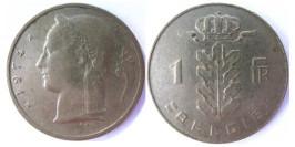 1 франк 1974 Бельгия (VL)