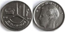 1 франк 1990 Бельгия (FR)