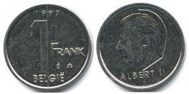 1 франк 1997 Бельгия (VL)