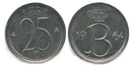 25 сантимов 1964 Бельгия (VL)