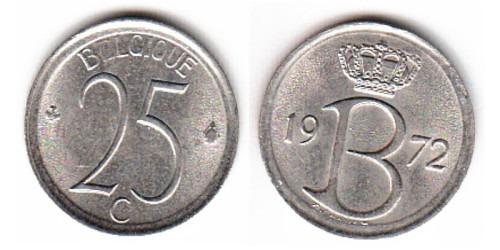 25 сантимов 1972 Бельгия (FR)