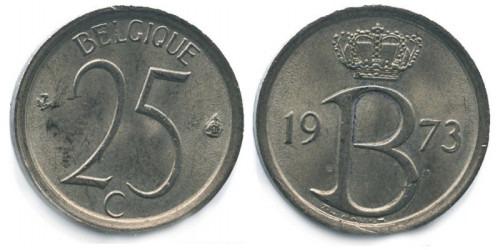 25 сантимов 1973 Бельгия (FR)