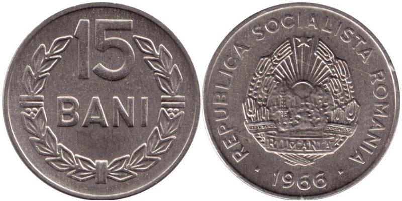15 bani 1975 цена 10 cent euro 1999 цена