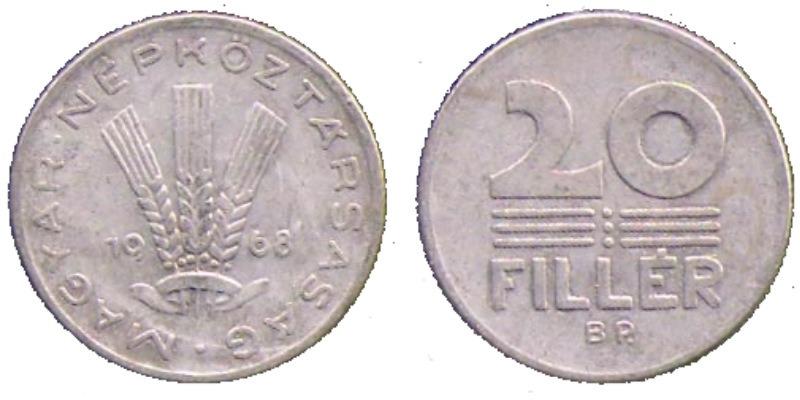 20 филлеров 1968 цена коллекционеры оружия пскова