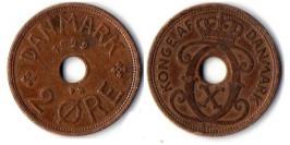 2 эре 1929 Дания
