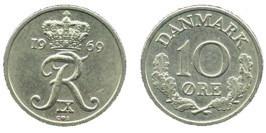 10 эре 1969 Дания