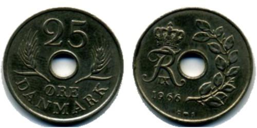 25 эре 1966 Дания