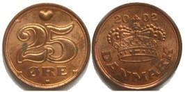 25 эре 2002 Дания