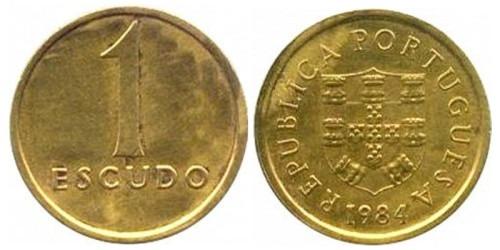 1 эскудо 1984 Португалия