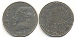 1 песо 1978 Мексика — закрытая цифра 8