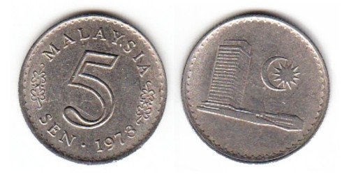 5 сен 1973 Малайзия