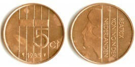 5 центов 1985 Нидерланды