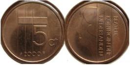 5 центов 2000 Нидерланды