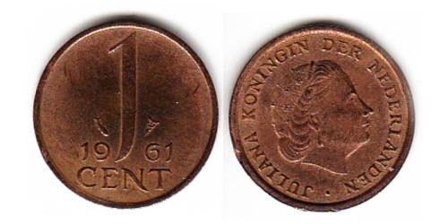 1 цент 1961 Нидерланды