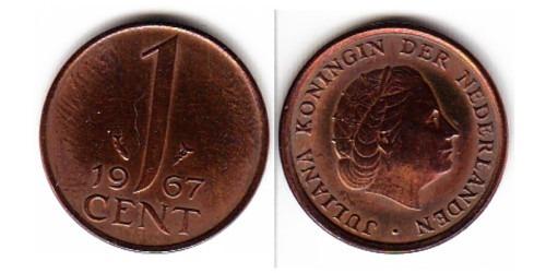 1 цент 1967 Нидерланды