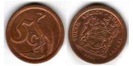 5 центов 1994 ЮАР