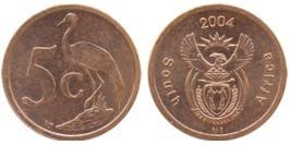 5 центов 2004 ЮАР