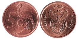5 центов 2006 ЮАР