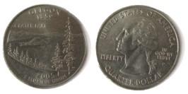 25 центов 2005 Р США — Орегон