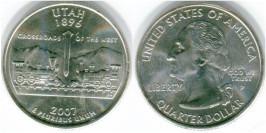 25 центов 2007 Р США — Юта