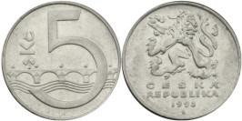 5 крон 1993 Чехия