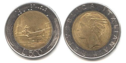 500 лир 1983 Италия