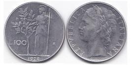 100 лир 1978 Италия
