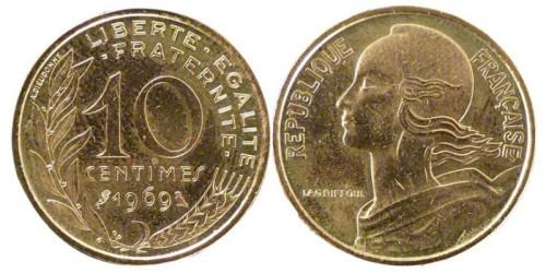 10 сантимов 1969 Франция