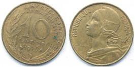 10 сантимов 1976 Франция
