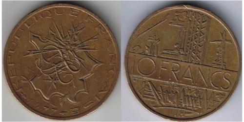 10 франков 1977 Франция