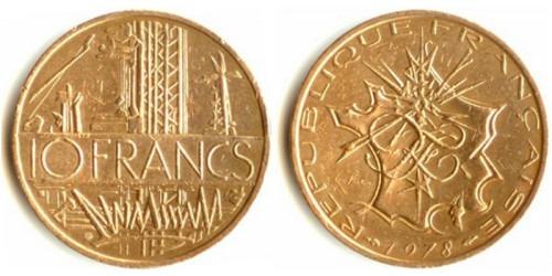 10 франков 1978 Франция