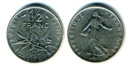 1/2 франка 1970 Франция