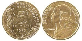 5 сантимов 1979 Франция