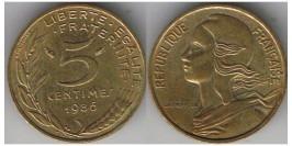 5 сантимов 1986 Франция