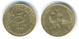 5 сантимов 1988 Франция