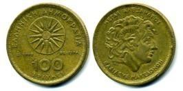100 драхм 1992 Греция
