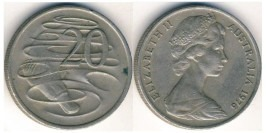 20 центов 1976 Австралия