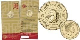 1 доллар 2014 Австралия — Лошадь — Лунная серия