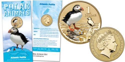 1 доллар 2013 Австралия — Атлантический тупик